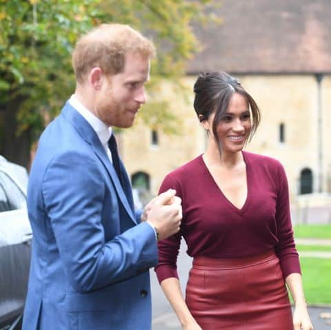 Meghan Markle and Prince Harry at A Women Empowerment Event