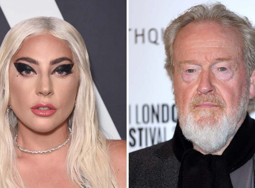 Gucci Movie: Lady Gaga and Ridley Scott Gets a 2021 Release Date.