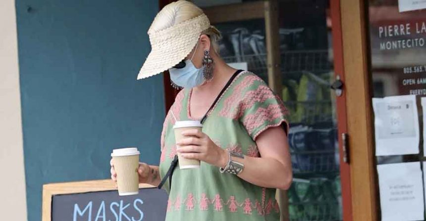 Katy Perry's first outing picture revealed after Welcoming Her Daughter